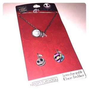 NWT Nightmare Before Christmas Necklace Set